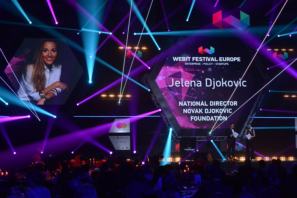 Webit presented its annual awards during a Glamorous Gala Dinner